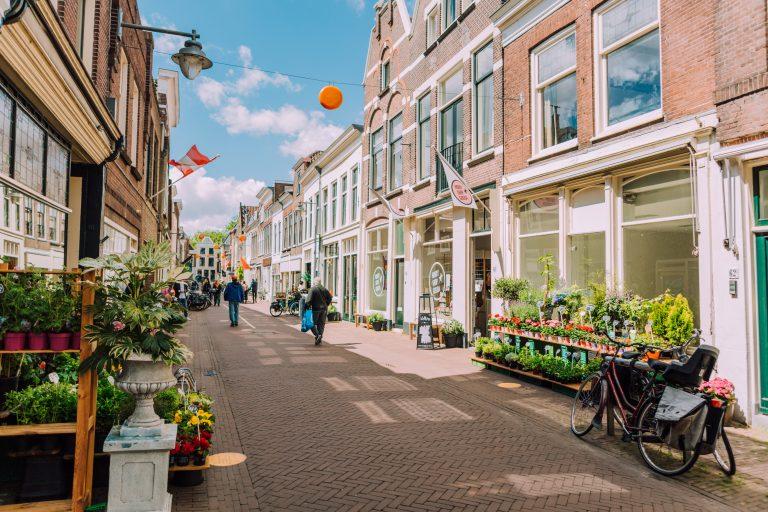 Winkels en straatverkoop