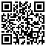Plaatje van de QR code om de app Gouda Denkt mee te downloaden